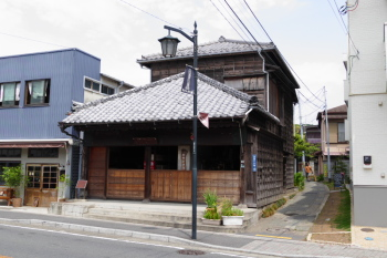 Preserved traditional style shop house.