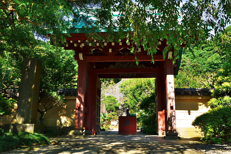 The entrance of Kosokuji Temple.