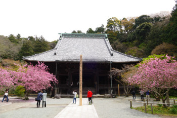 Soshido hall building of Myohonji Temple.