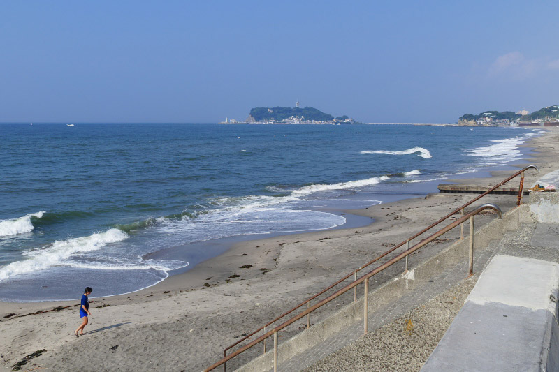 Oceanview from Shichirigahama
