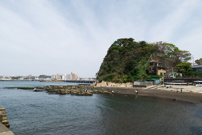 Overview of Nishiura Cove