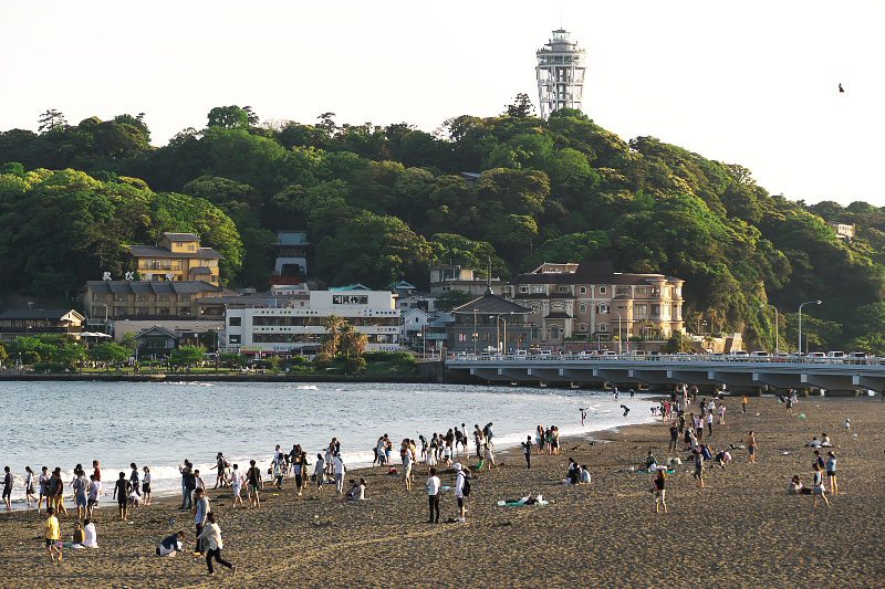 The main area of Enoshima.