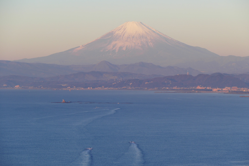 Mt.Fuji from top of Sea Candle