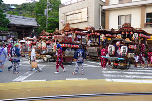 Katase Town and Ryukoji Temple guide