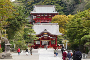 The center of Kamakura sightseeing guide